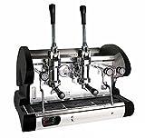 Commercial Pull Lever Espresso Machine (Black)