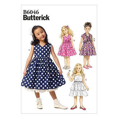 BUTTERICK PATTERNS B6046 Children'sGirls'