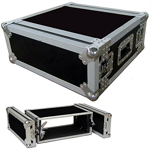 4 Space 4u 16 Inches Deep Heavy Duty 3/8 Ply ATA Amp Rack Case - Sale Price