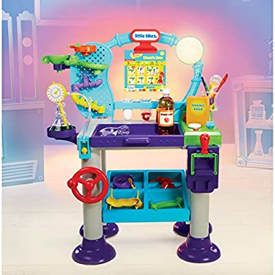 Little Tikes STEM Jr. Wonder Lab Toy with Experiments for kids: Toys & Games