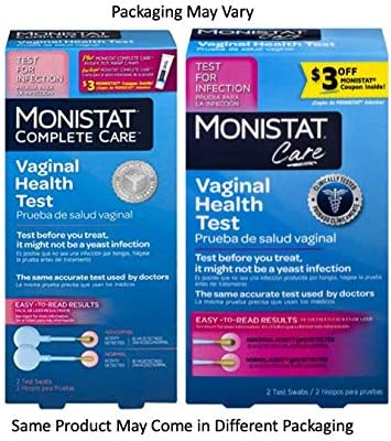 Amazon Com Monistat Care Vaginal Health Test Ph Test Test Before You Treat 2 Swabs Health Personal Care