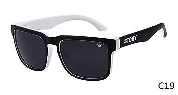 HUWAIYUNDONG Gafas De Sol,Gafas De Sol Clásicas Diseño Moda ...