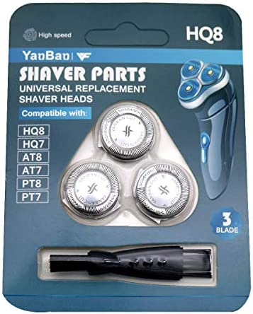YanBan HQ8 Shaver Head Replacement Blades for Philips Aquatouch ...