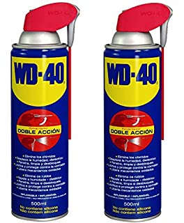 WD-40 - Lubricante WD40 Doble Accion 500ml - Pack 2 unidades