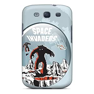 Series Skin Case Cover For Galaxy S3(space Invaders)