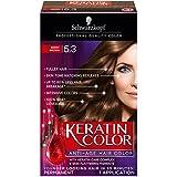 Schwarzkopf Keratin Color Anti-Age Hair Color Kit, 5.3 Berry Brown (Pack of 2)