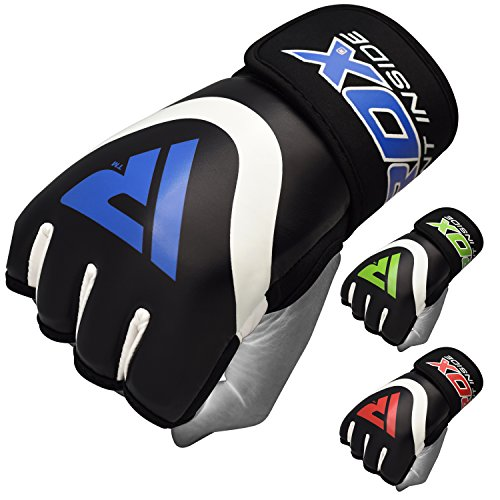 RDX Hand Wraps Boxing Inner Gel Gloves Under MMA Fist Knuckle Protector Muay Thai Fist Bandages Maya Hide Leather Padded Mitts
