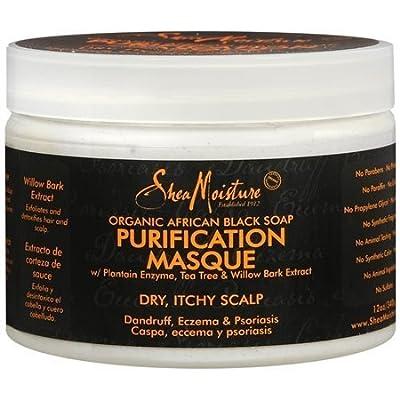 Shea Moisture African Black Soap Purification Hair Masque