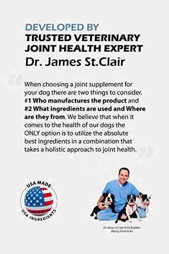 Image of TopDog Health GlycanAid-HA Advanced Joint Supplement for Dogs (60 Chewable Tablets) - Made in USA with USA Ingredients - Contains Glucosamine HCL, Chondroitin Sulfate, Hyaluronic Acid, MSM, Cetyl-M