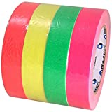 Pro Gaff Fluorescent Short Stack Gaffers Spike Tape 1 inch X 20 yds