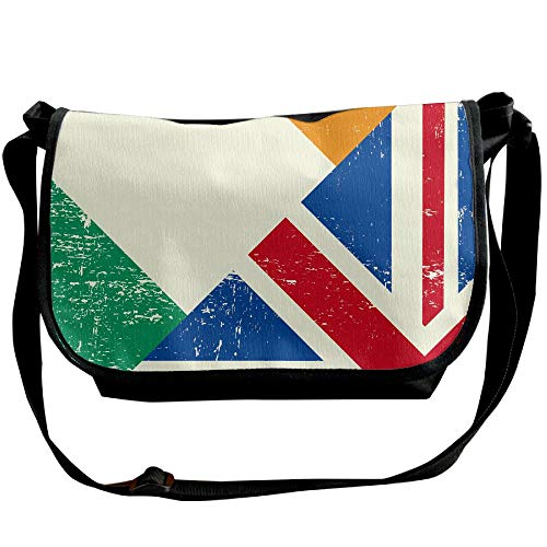 Bag Travel Of Black Ireland Bags Britain Flag Women's Great And Designer Fashion Bags Crossbody Sling OdwdqP6