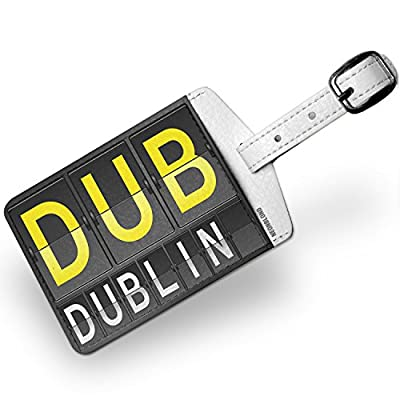c64ede022fe3 Luggage Tag DUB Airport Code for Dublin - NEONBLOND 80%OFF - xn ...