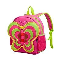 Kiddi Choice Nohoo Neoprene Butterfly Backpack,Pink