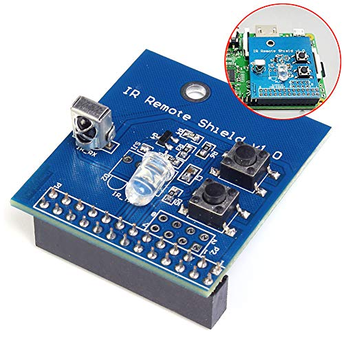 Icstation 38KHz IR Infrared Remote Control Transceiver Shield for Raspberry Pi 2 3 Module B B+