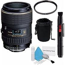 Tokina 100mm f/2.8 at-X M100 AF Pro D Macro Autofocus Lens for Nikon AF-D (International Model) +Deluxe Cleaning Kit + Lens Cleaning Pen + 55mm UV Filter + Deluxe Lens Pouch