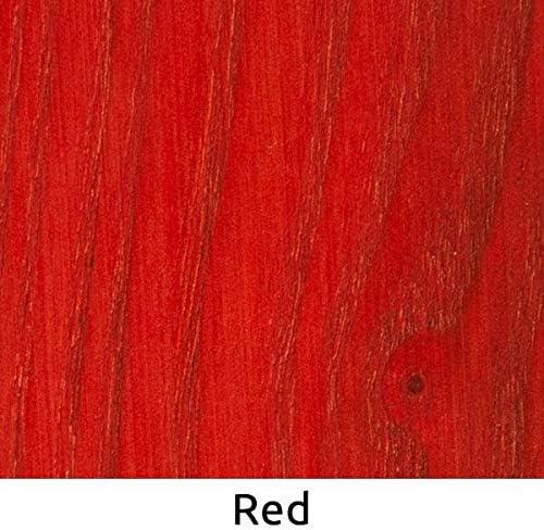WooDeeDoo – Tinte para madera, Tinte para madera, Rojo, 200 ml