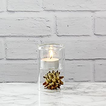 "CYS Excel Tealight Candle Holder H-3.75"" Piper Tealight Holder, Pack of 24 pcs"