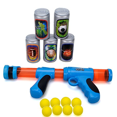 Kids Blaster Shooter Gun Toy - Eva Foam Play Gun for Boy and Girls ,Blue (Foam Shooter Gun)