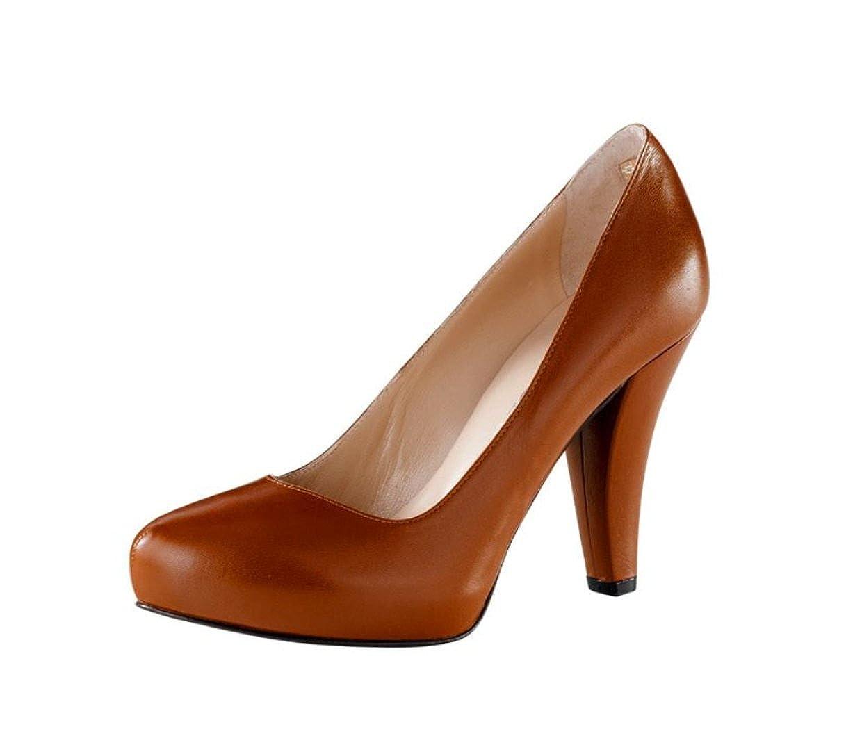 PATRIZIA DINI Damen-Schuhe Pumps Braun Größe 42