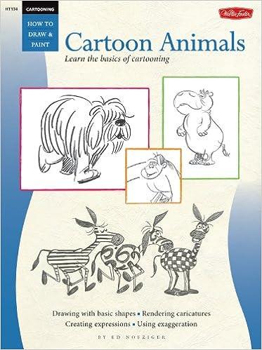 Buy Cartooning Cartoon Animals Learn To Draw Cartoons Step By Step