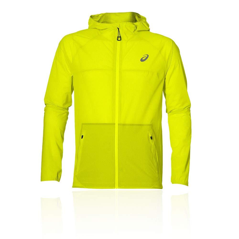 Asics Waterproof Chaqueta Impermeable, Hombre 141246