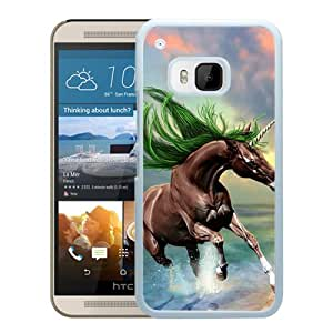 New Beautiful Custom Designed Cover Case For HTC ONE M9 With Young Horse (2) Phone Case