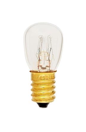 Lámpara para horno incandescente E14: Amazon.es: Iluminación