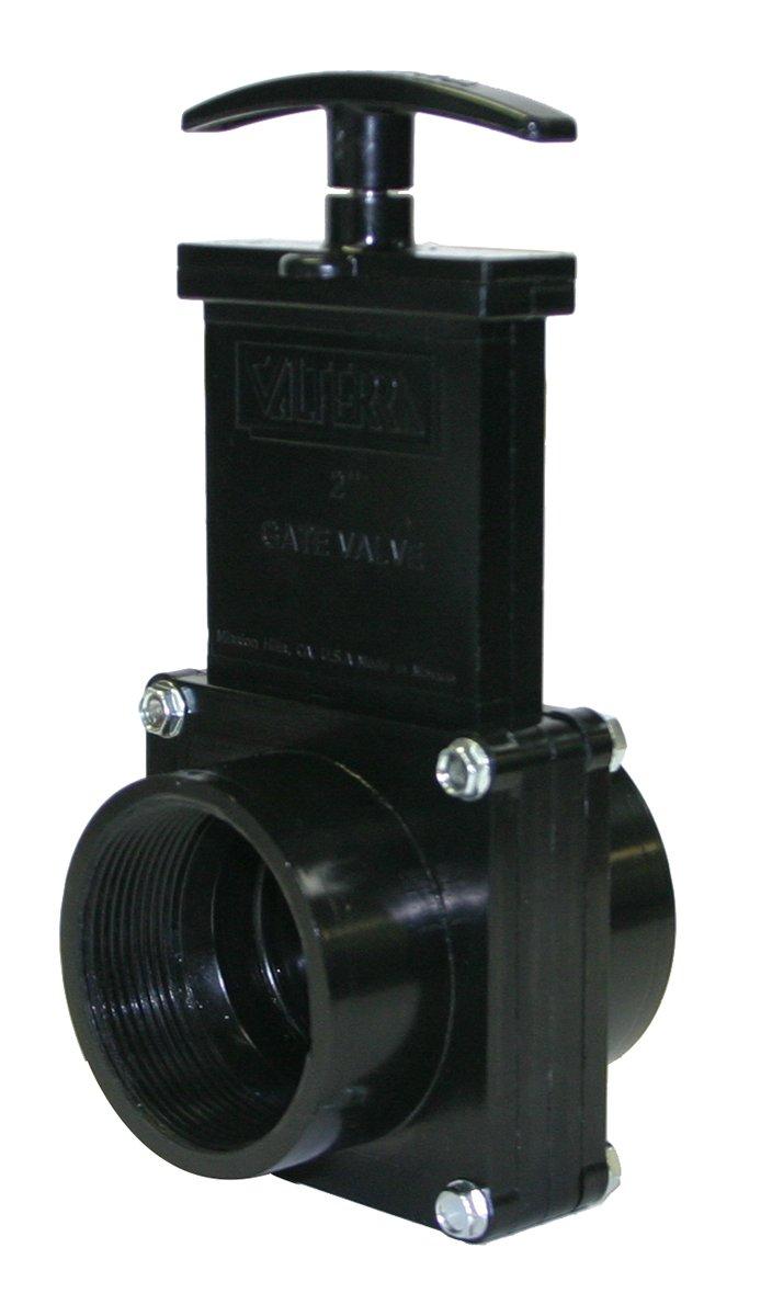 Valterra 7207 ABS Gate Valve Black 2 FPT 2 FPT Valterra Products