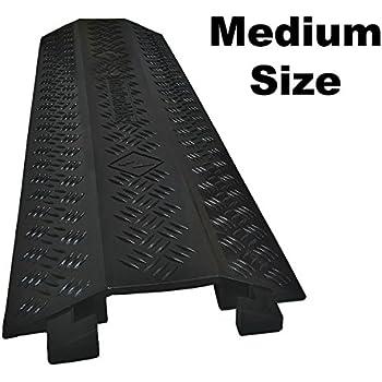 Drop Trak Cable & Hose Protector - Medium - Black