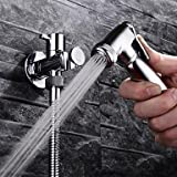 Furesnts Modern home kitchen and bathroom faucet HPB Contemporary Chrome Finish Brass Bidet Faucet ,(Standard G 1/2 universal hose ports)