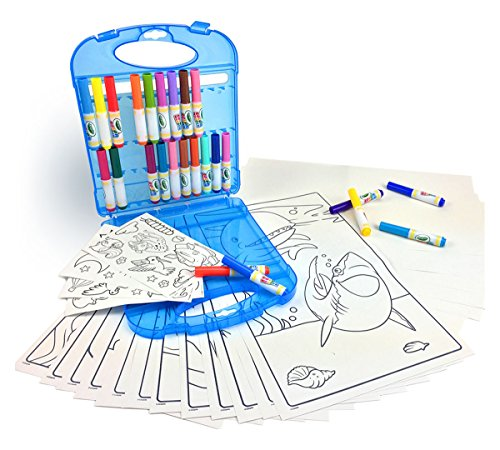 Crayola Color Wonder Mess Free Coloring Kit, Gift for Kids, 3, 4, 5, 6 (Amazon Exclusive) -
