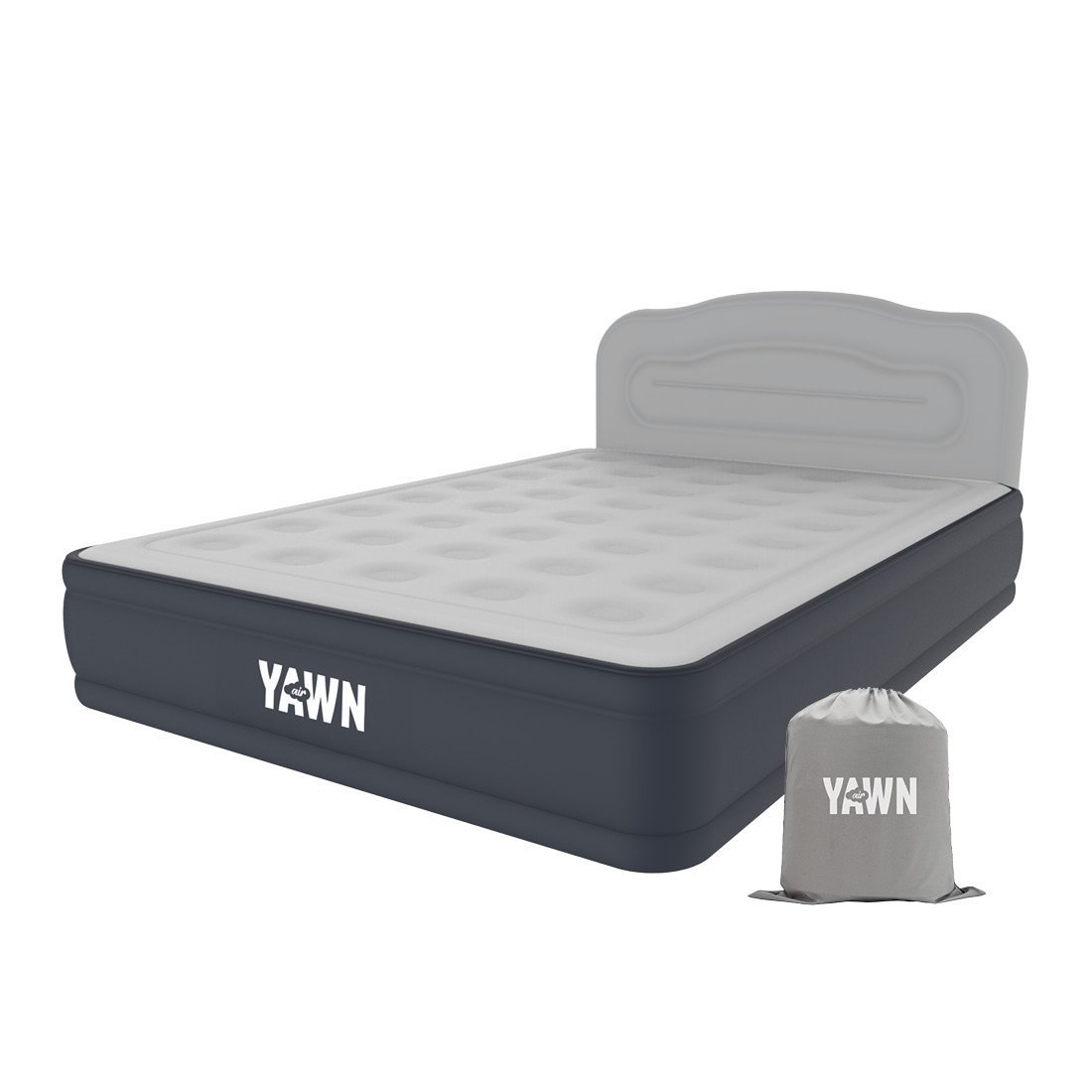 High Street TV Yawn Air Bed Size Self Inflating Airbed With Built In Pump