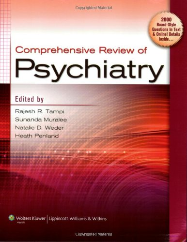 Comprehensive Review of Psychiatry by LWW