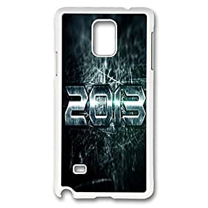 2013 Printed Hard Plastic Case Cover for Samsung Galaxy Note 4?¨º?¡ìWhite 102246?¨º? WANGJING JINDA