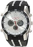 U.S. Polo Assn. Sport Men's US9061 Black Rubber Strap Watch from U.S. Polo Assn. Sport