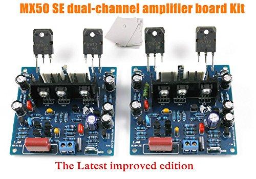 3 opinioni per nobsound® 2pcs/1set MX50SE Power Amplifier Kit Dual Channel 100W + 100W