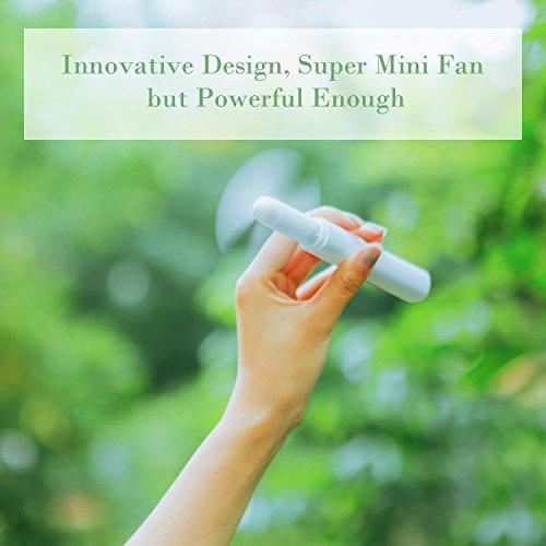 Review HAPTIME Mini Fan, Portable