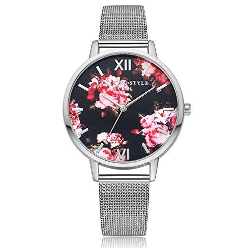 rose flower dial - 4
