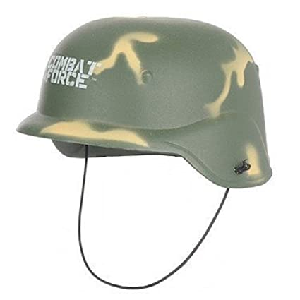 b920c7a5fd2 Fancy Dress Army Helmet  Amazon.co.uk  Toys   Games