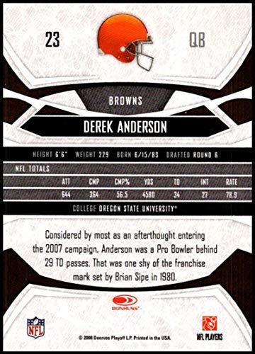27da693c Amazon.com: 2008 Donruss Gridiron Gear #23 Derek Anderson NM-MT ...