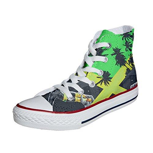 mit personalisierte Themen Jamaika Handwerk und Custom Schuhe Converse Produkt Farben wBSXRBxqn