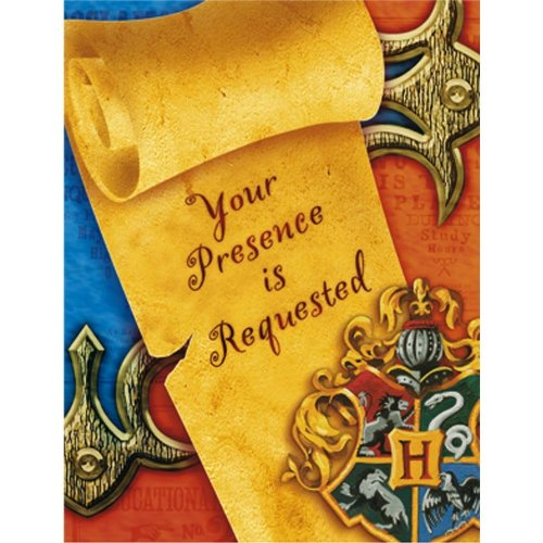Harry Potter Invitations (8 (Celebrate Express Costumes)