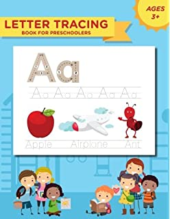 letter tracing book for preschoolers handwriting workbook and practice for kids ages 3 5