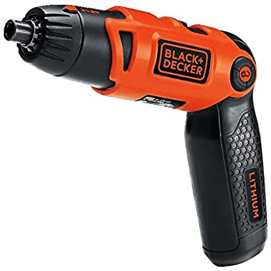 BLACK+DECKER LI2000 3.6-Volt 3-Position Rechargeable Screwdriver