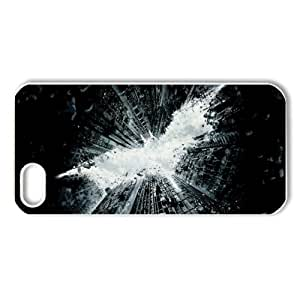 CTSLR Movie & Teleplay Series Protective Hard Case Cover for iPhone 5 - 1 Pack - Batman - 4