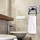 Autumn Alley Barn Door White Bathroom Rustic Towel
