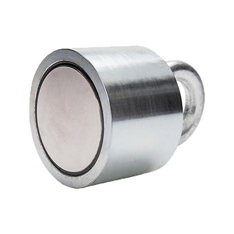 SGerste Imán de recuperación de neodimio, detector de metal, 55 x 40 mm,