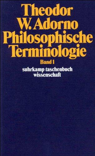 Philosophische Terminologie: Zur Einleitung. Band 1