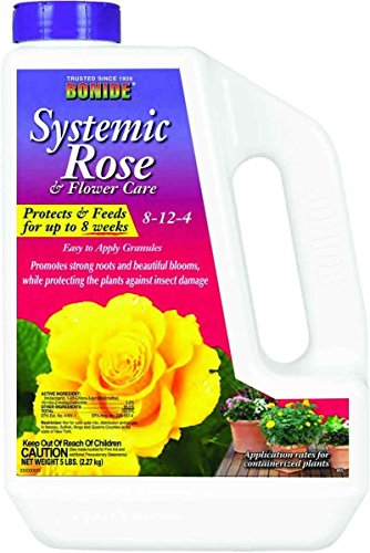 Imidacloprid Insecticide + 8-12-4 Fertilizer Systemic Rose And Flower Care 5 Lbs Not For Sale To: (Bonide Rose)