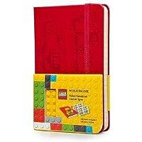 Moleskine Limited Edition Ruled Pocket Notebook Lego, Red